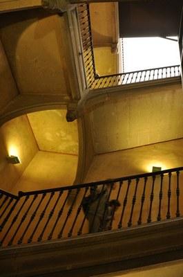 "L'escalier ""central"""